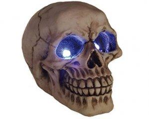 Skull med LED