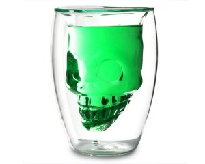 Dödskalle Glas 18 cl