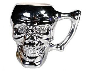 Mugg Skull Crystal Eyes