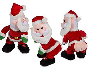 Dansande, sjungande & Fisande Jultomte