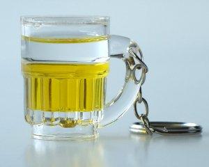Nyckelring Ölglas Liquid