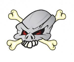 Bone Head - 10x12