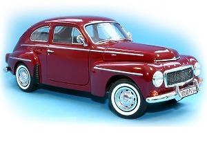 Volvo PV 544 1958 Skala 1:18