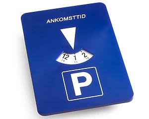 Automatisk P-Skiva