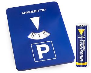 Automatisk P-Skiva + Batteri