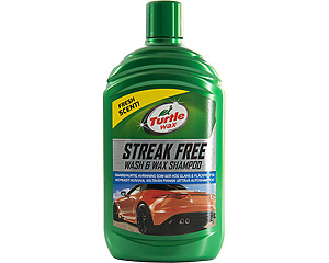 Streak Free Wash & Wax Shampoo - Turtle Wax