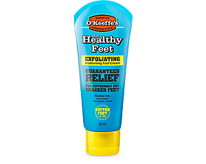 O'Keeffe's Healthy Feet Exfoliating Tub, fotkräm