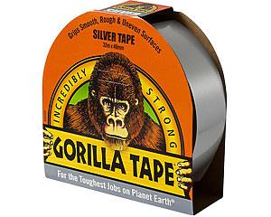 Vävtejp Gorilla, Silver 32 meter