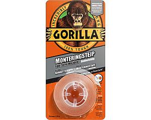 Dubbelhäftande Monteringstejp Gorilla