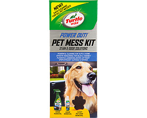 Power Out Pet Mess Kit, Turtle Wax