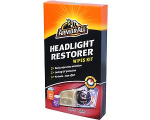 Headlight Restorer Wipes Kit, Armor All