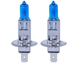 Glödlampa Blue Ice Racing H1 4400K