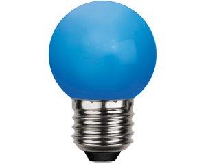 Decoration LED E27 Rund Blå