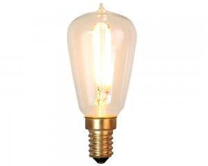Decoration LED Klar filament lampa E14 2200K 120lm Dimmerkomp