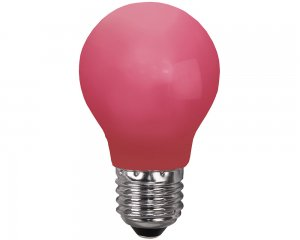 Decoration LED E27 Röd