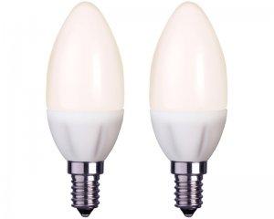 2-pack LED E14 3W (25W) - Kron