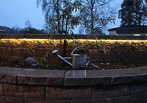 LED Ljusslang 216 ljus 6m - Varmvit - 220v