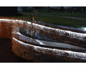 LED Ljusslang 216 ljus 6m - Kallvit - 220v