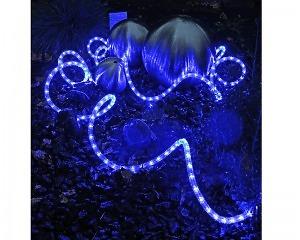 LED Ljusslang 216 ljus 6m - Blå - 220v