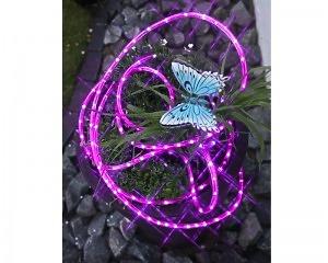 LED Ljusslang 216 ljus 6m - Rosa - 220v