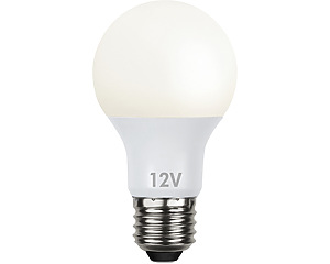 LED-lampa E27 12V Low Voltage
