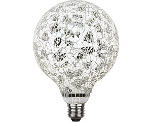 LED-lampa E27 G130 Decoled