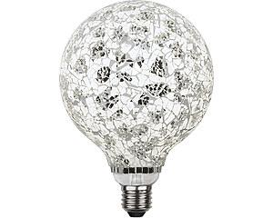LED-lampa E27 G130 Decoled