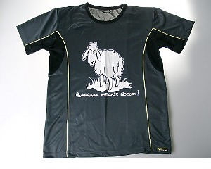 Sport t-shirt - Baaaa Means No
