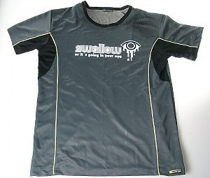 Sport t-shirt - Swollow or its going in your eye