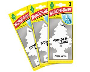 Wunderbaum 3-pack, Arctic White