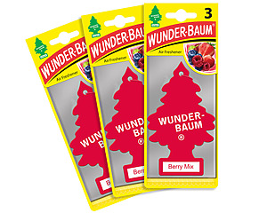 Wunderbaum 3-pack, Berry Mix