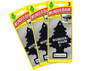 Wunderbaum 3-pack, Black Classic