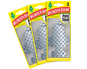 Wunderbaum 3-pack, Pure Steel