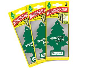 Wunderbaum 3-pack, Skogsfrisk