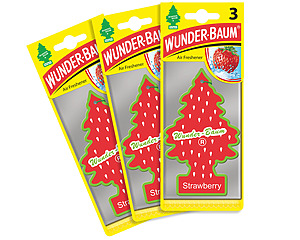 Wunderbaum 3-pack, Jordgubbe