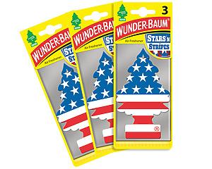 Wunderbaum 3-pack, Stars n Stripes USA-Gran