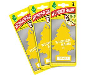 Wunderbaum 3-pack, Vanilj