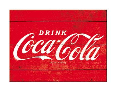 Magnet Coca-Cola Röd