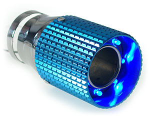 Slutrör Blue Pipe LED