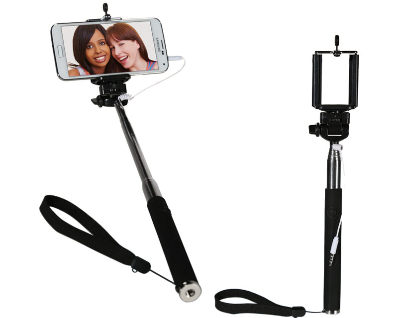 Selfiepinne / Selfie Stick med 3,5 mm plug thumbnail