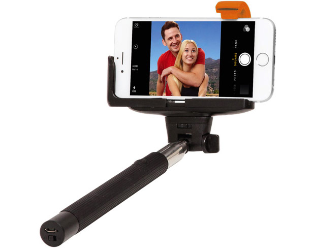 Selfiepinne / Selfie Stick med Bluetooth thumbnail