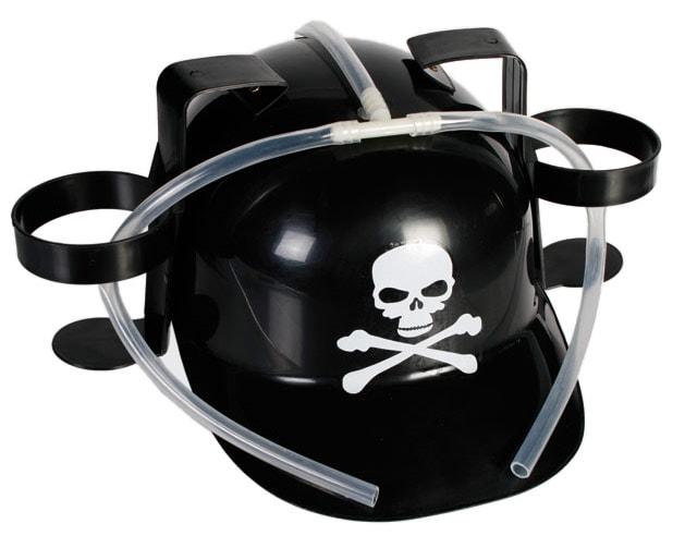 Drinking Helmet - Black Skull thumbnail
