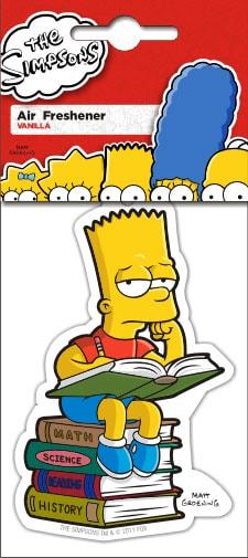 Simpsons bart reading bilstyling - Bart simpson nu ...