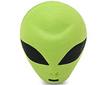 Green Alien Antennboll
