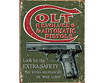 Colt Extra Safety - Retro Skylt