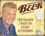 Mer info om Beer The Reason - Retro Skylt