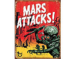 Mars Attacks - Retro Skylt