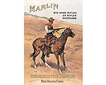 Marlin Cowboy on Horse - Retro Skylt