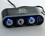 Socket Switch & USB - 3-way