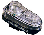 Bike Light Front Oval - Duracell